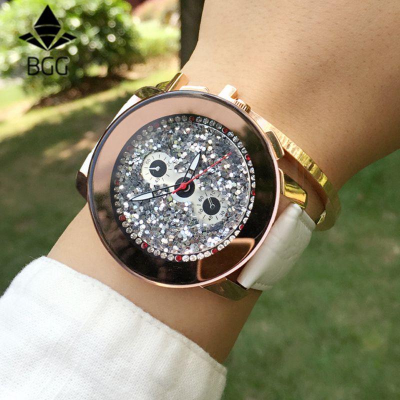 Prix pour DADE Marque femmes Montres de Haute Qualité Véritable Bracelet En Cuir Robe Montre Nouveau Design Quartz Montre femme horloge femmes montre femme