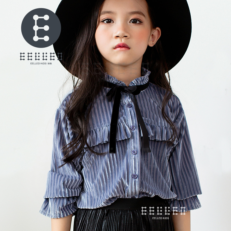 2017 New Girl Shirt Brand Children Clothing High Quality Girls Blouses Full Sleeve Kids Clothes For Girls Baby Clothes