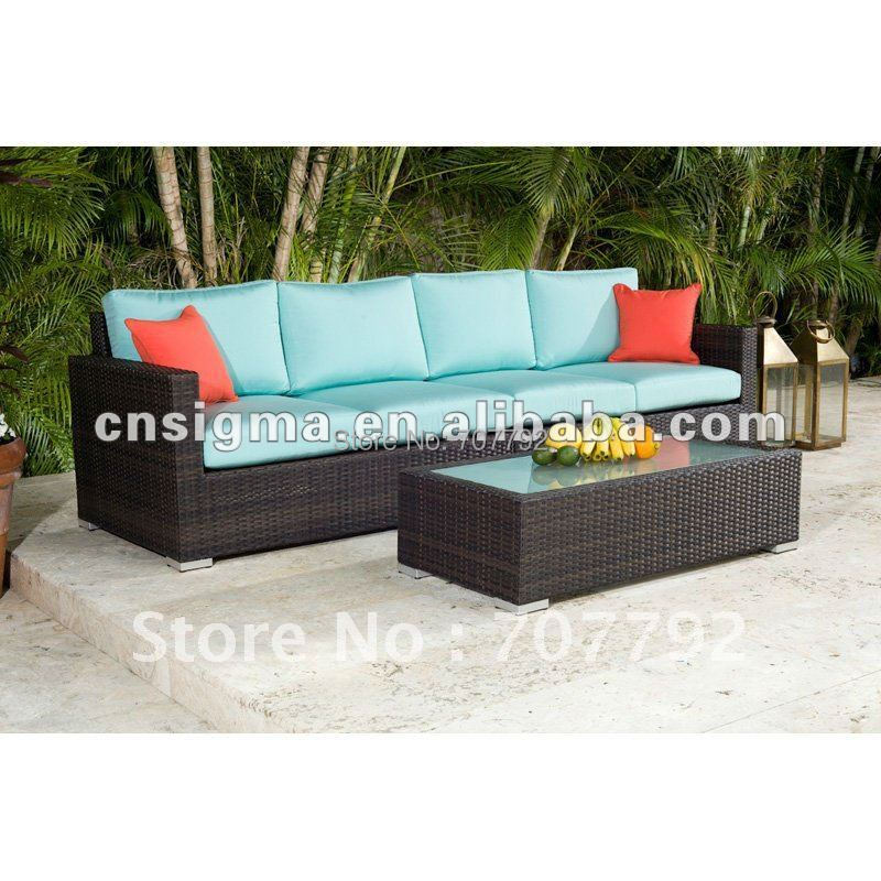 outdoor allweather wicker loveseat setchina