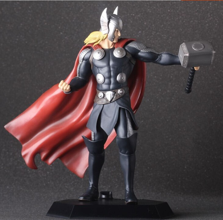 Avenger Thor 18cm Toys Action Figure Brinquedo Toy Kids Christmas Gift #1828 Free Shipping free shipping 20pcs aluminum heat sink 25 x 25 x 10mm electrical accessories