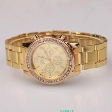 Luxury Fashion Geneva Brand Casual Watch Men Women Dress Quartz Wristwatches Relogio Feminino 2017 Women's watches clock