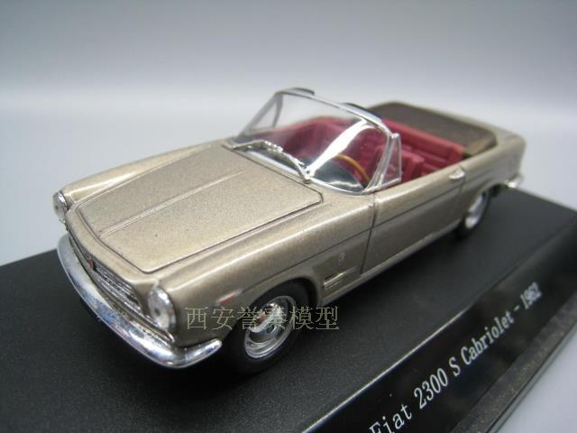 Star Line 143 Fiat 2300 S Cabriolet 1961 Alloy Model Car Diecast