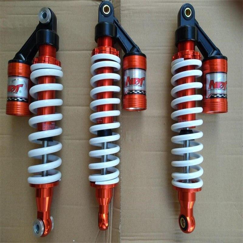 3 pièces ATV UTV VTT rzr 110cc 150cc 250cc 500cc 350mm Amortisseurs avant tampon et 350mm Amortisseurs arrière 4X4 go kart karting quad
