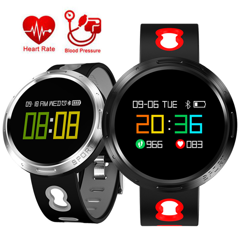 Fitness Smart Watch Men Women Heart Rate Monitor Blood Pressure Pedometer Sport Intelligent Watch With Lamp For Running Night High Quality Goods Men's Watches