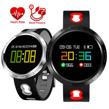 Fitness Bracelet Smart Watch Men Women Heart Rate Monitor Pedometer Blood Pressure Running OLED Touch Sport Intelligent Watch(China)