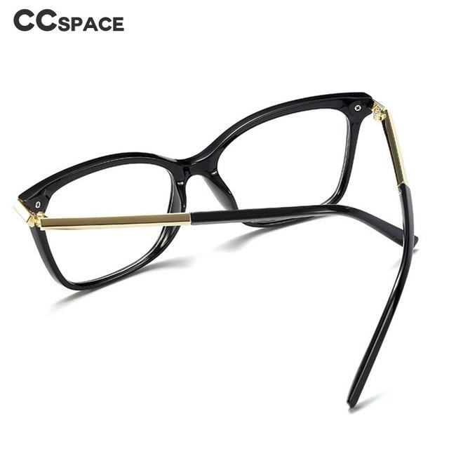 Cat Eye Square Retro Glasses Frames Men Women Optical Fashion Computer Glasses 45803