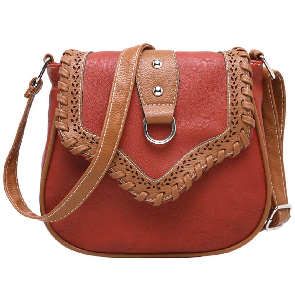 ASDS Retro Crossbody Bag For Women Messenger Bags Lady Famous Brand Pu Leather Women's Shoulder Bags Hollow Out Bolsa Feminina fashionable retro pu leather one shoulder messenger bag for women brown 120cm strap