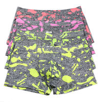 4Pcs/Packs Men Camouflage Underwear Underpants Wholesale Men's Bulge Pouch Boxer Shorts Trunks Males Soft Boxers Bottoms New