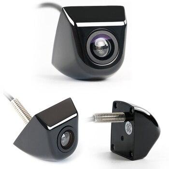 Cámara para vehículo vista trasera de coche Cámara CCD para coche HD aparcamiento reverso Monitor de cámara trasera 170 grados impermeable carcasa de metal