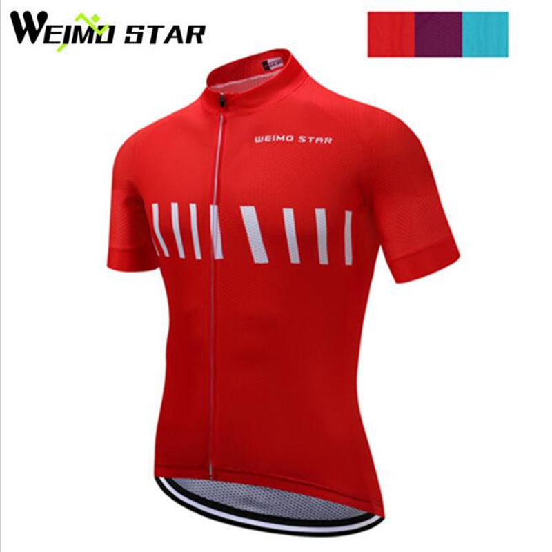 WEIMOSTAR Pro Team Cycling Jersey Long Sleeve Racing Sport Bicycle Bike Clothes