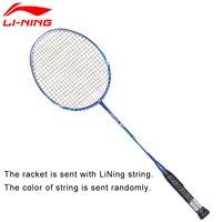 Li Ning U Sonic 27 Badminton Rackets With String Carbon Fiber Professional LiNing Rackets AYPM224 ZYF211