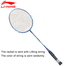 Li-Ning U-Sonic 27 Badminton Rackets With String Carbon Fiber Professional LiNing Rackets AYPM224 ZYF211(China)