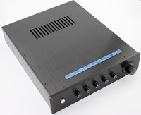 WA6 Full aluminum amplifier chassis / Tube amp amplifier / AMP Enclosure / case / DIY box YJ