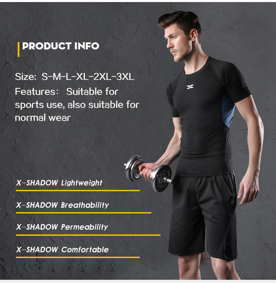 HTB1WSzLaHus3KVjSZKbq6xqkFXas WorthWhile 5 Pcs/Set Men's Tracksuit Compression Sports Wear for Men Gym Fitness Clothes Running Jogging Suits Exercise Workout
