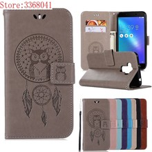 For ASUS ZenFone 3 Max ZC553KL X00DD XOODD Case Leather Wallet Flip Cover For ASUS ZCX553KL XX00DD OODD 00DDA 00DDB Phone Case(China)