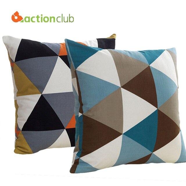aliexpress com buy european grid cushions fashion home fashion modern decorative cushions moomin and snufkin
