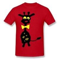 DIY Men T Shirt Cute Australian Of Kangaroo Design Tee Shirts Guys Clothes Color Red White