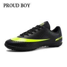 Футбольные кроссовки для мужчин, детские футбольные бутсы для зала, кроссовки для зала, оригинальные футбольные бутсы, удобные водонепроницаемые