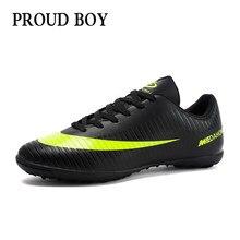5c8acdf9 Zapatos de fútbol para hombres niños zapatos de fútbol de interior  zapatillas de deporte césped superfly futsal original botas d.