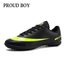 Zapatos de fútbol para hombres, zapatos de fútbol para interiores para niños, zapatillas turf superfly futsal, botines de fútbol originales, cómodos, impermeables