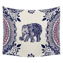 Múltiples estilos de Bohemia Elefante Tapiz Tapiz Mandala Mantas Manta Colcha Dormitorio Decoración Para El Hogar mantas mandalas