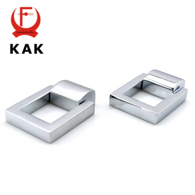 Kak Simple Zinc Alloy Cupboard Handles 24mm Hole Distance