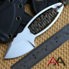 Ben Atwood fixed blade knife AUS 8 Steel Blade hunting small straight knife KYDEX Sheath camping survival outdoor EDC tool
