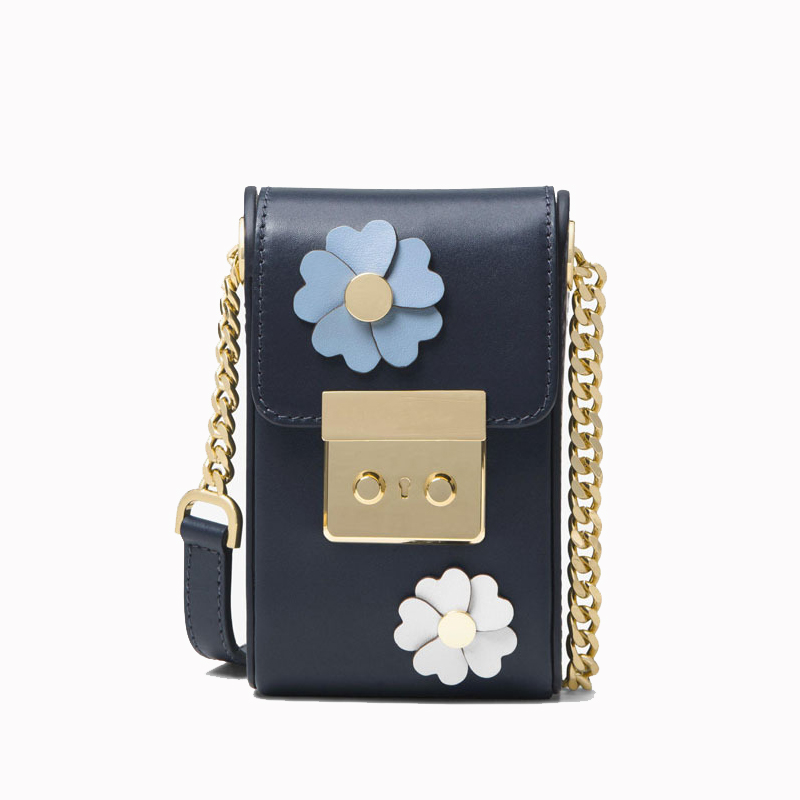 ФОТО 3D Floral Leather Crossbody Bag Women Hasp Cover Cell Phone Bag Mini Chain Bag Joker Fashion Sweet Beauty Pocket Money Bag