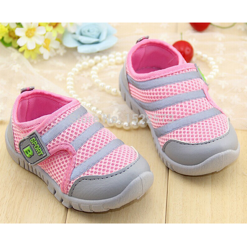 2016 Hot baby shoes 13-15.5 cm Children shoes Brands sneaker First STep boy/Girl Shoes antiskid footwear Infant/Newborn shoes