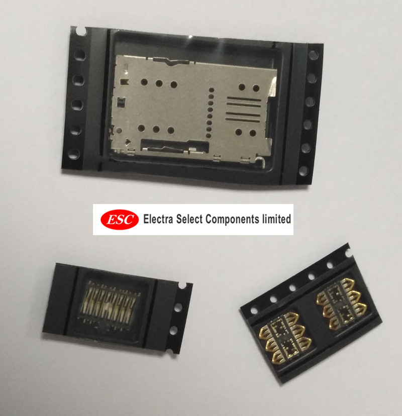1 set <font><b>SIM</b></font> Card Reader Connector Holder <font><b>Tray</b></font> Slot Socket For <font><b>Meizu</b></font> M3 <font><b>Note</b></font> <font><b>M2</b></font> MINI M3 MINI M3S mini <font><b>Sim</b></font> Card Slot Repair Parts image