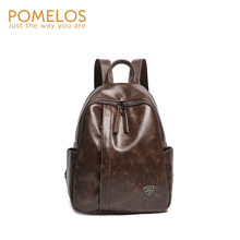 POMELOS Backpack Women 2019 New Arrival Female Vintage High Quality Synthetic Leather Luxury Girls Travel Bag