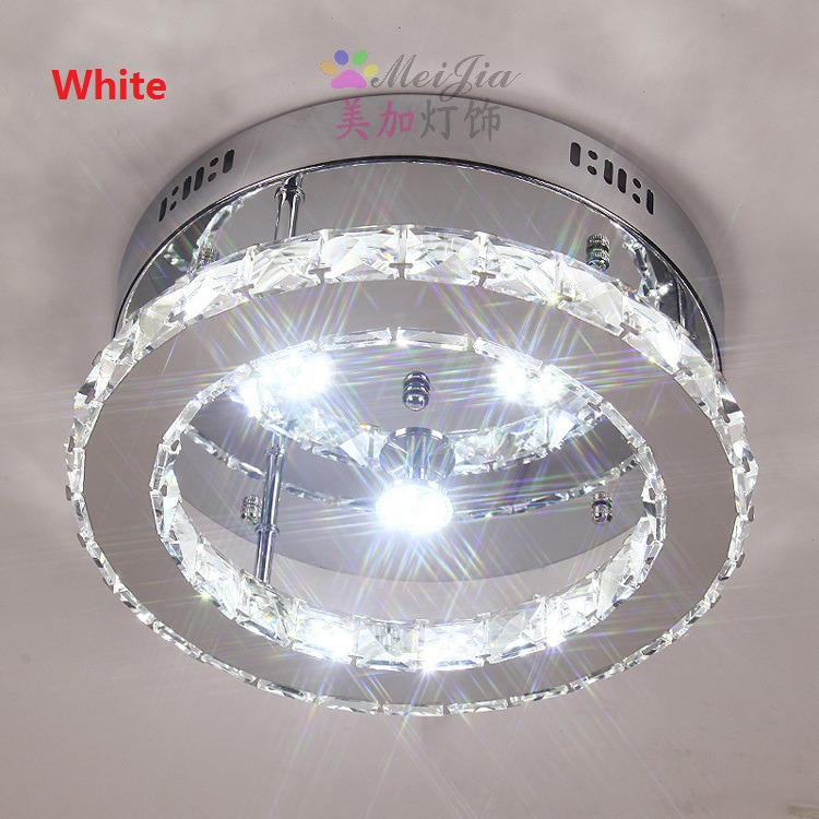modern 2032cm led crystal ceiling lights kitchen light ceiling corridors aisle ceiling lamp fixtures cheap ceiling lighting