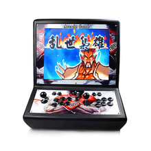 19 Inch Pandoras Arcade Console 2222 Games in 1 Newest Mini Retro Video LCD Game Machine