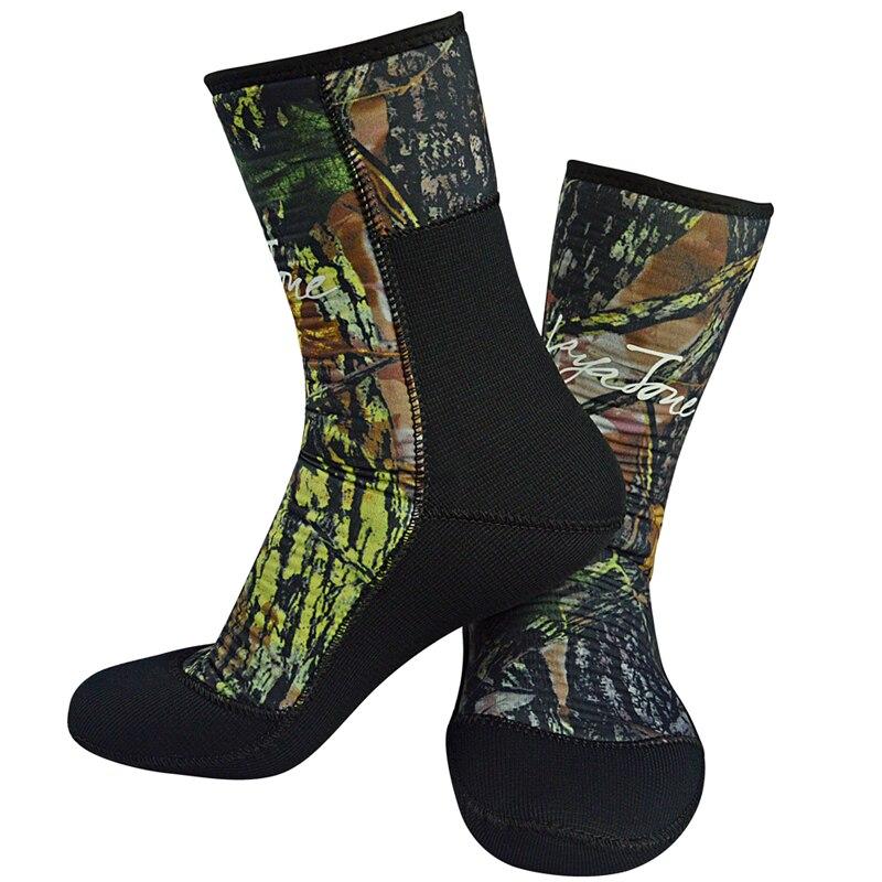 Lyatone Wetsuit Socks 7mm Neoprene Diving Socks Camouflage Fishing Underwater Hunting Spearfishing Swimming Water Socks Shoes