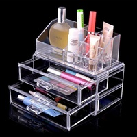 Acrylic Make Up Organizer For Cosmetic Organizer Makeup Storage Makeup Organizer Storage Box Drawers Organizers