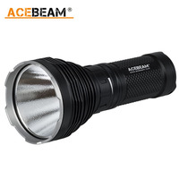 ACEBeam K60 5000 lumen 704M CREE XHP70 LED Flashlight Powerful Serchlight Camping Magnetic Ring Torch Use 4x 18650 Battery