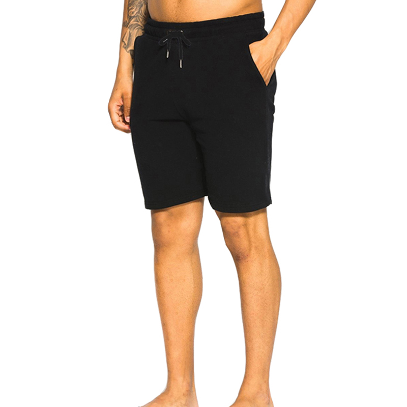 Men Solid Color Shorts Trunks Fitness Workout Beach Shorts Man Breathable Cotton Gym Short Trousers in Casual Shorts from Men 39 s Clothing