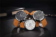 Fashion Chronograph Sport Mens Watches Top Brand Luxury Quartz Watch