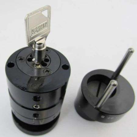 Tubular Computerized Key Cutting Machine Cutters KLOM Portable Plum Key Copier