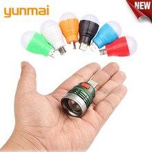 YUNMAI NEW Mini Usb LED Flashlight 6 Colours  Q5 Aluminum Work Light 800LM Waterproof Lanterna 3 Modes Portable LED Torch Lamp цена