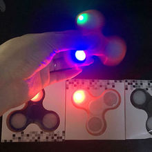 Cool New 2017 LED Light Hand Spinner Fidget Spinner ABS EDC ADHD Focus Toy Kids/Adult Gift