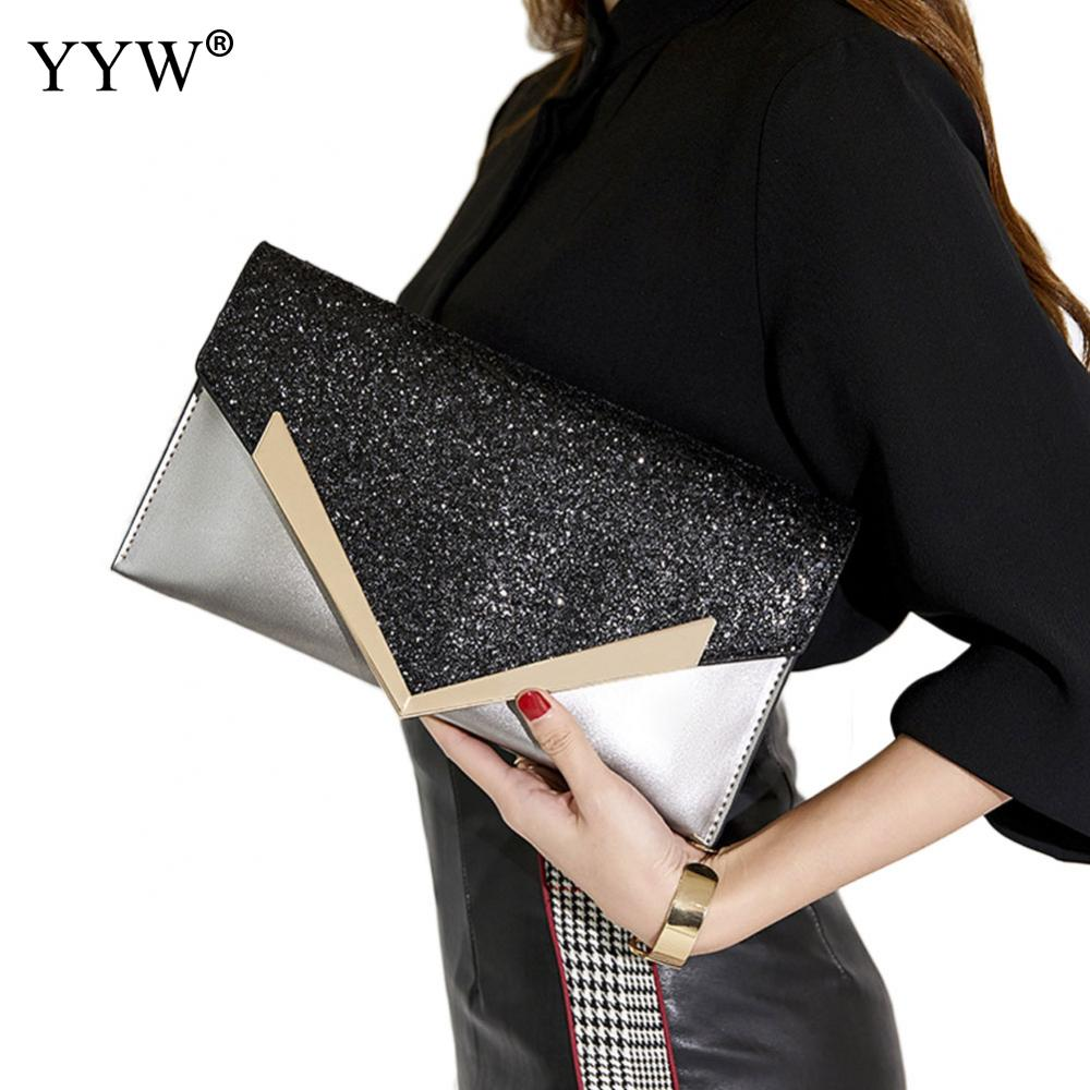 Black Envelope Clutch Bag Women Leather Birthday Party Evening Clutch Bags For Women Ladies Shoulder Clutch Bag Purse FemaleBlack Envelope Clutch Bag Women Leather Birthday Party Evening Clutch Bags For Women Ladies Shoulder Clutch Bag Purse Female