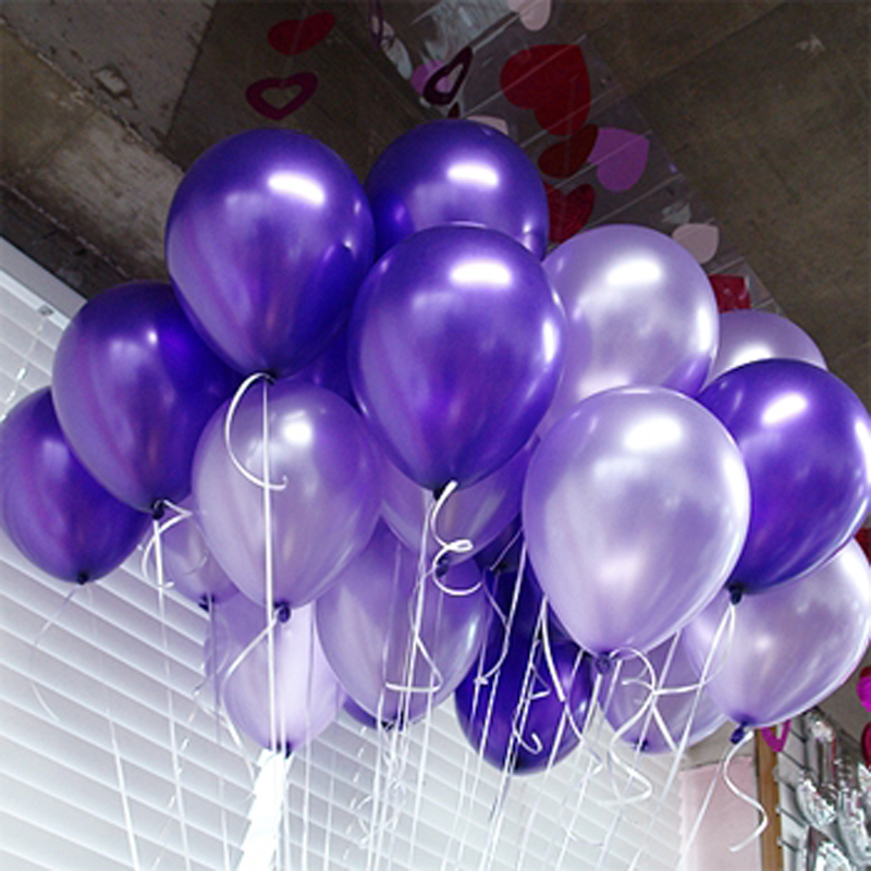50pcs Beautiful Balloons Merry Christmas Tree Decorations