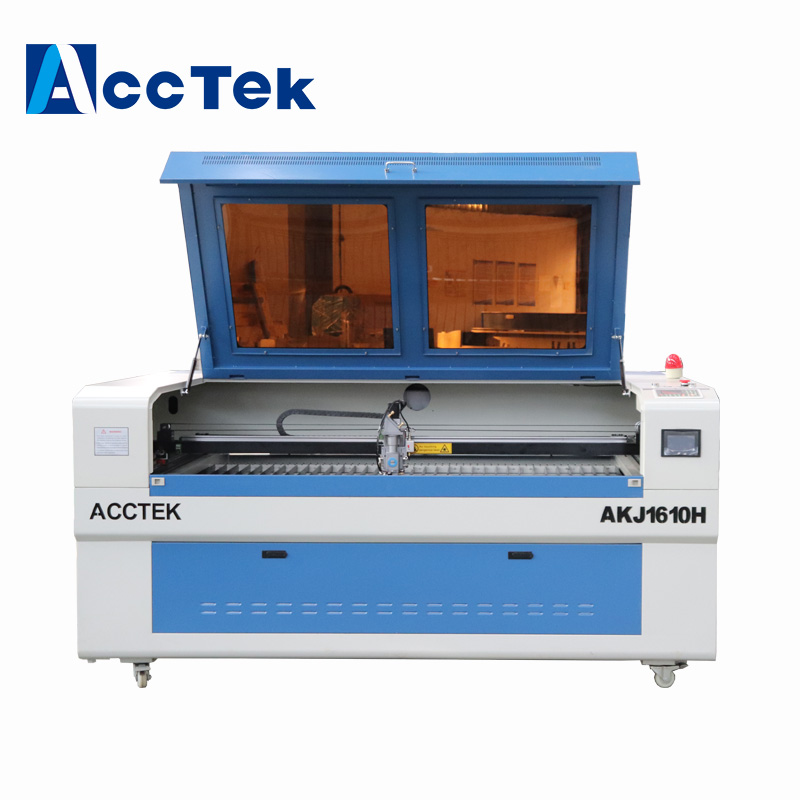 <font><b>300W</b></font> metal <font><b>laser</b></font> <font><b>tube</b></font> 1610 <font><b>co2</b></font> steel metal sheet <font><b>laser</b></font> cutting machine AKJ1610H image