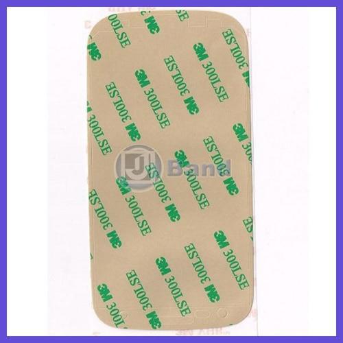 100pcs lot For Samsung Galaxy S3 S III mini i8190 3M Pre Cut Adhesive Strip Tape