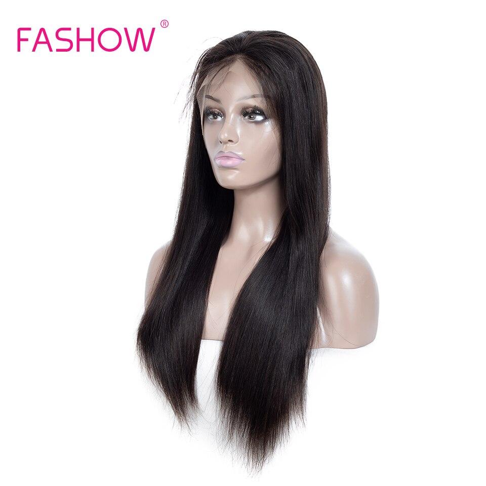 Perruques en dentelle pré-cueillies avec cheveux de bébé ligne de cheveux naturelle péruvienne droite Remy cheveux 180% densité noeuds blanchis