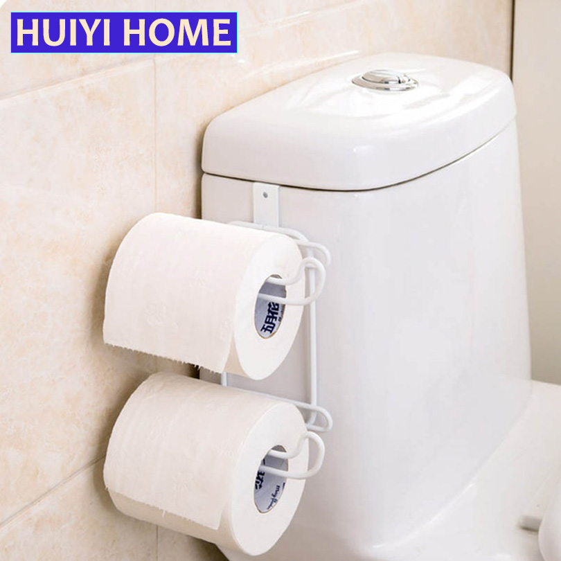 Huiyi home bathroom organizer toilet paper holder 2 styles stainless steel tissue towel shelf - Tissue holder bathroom ...