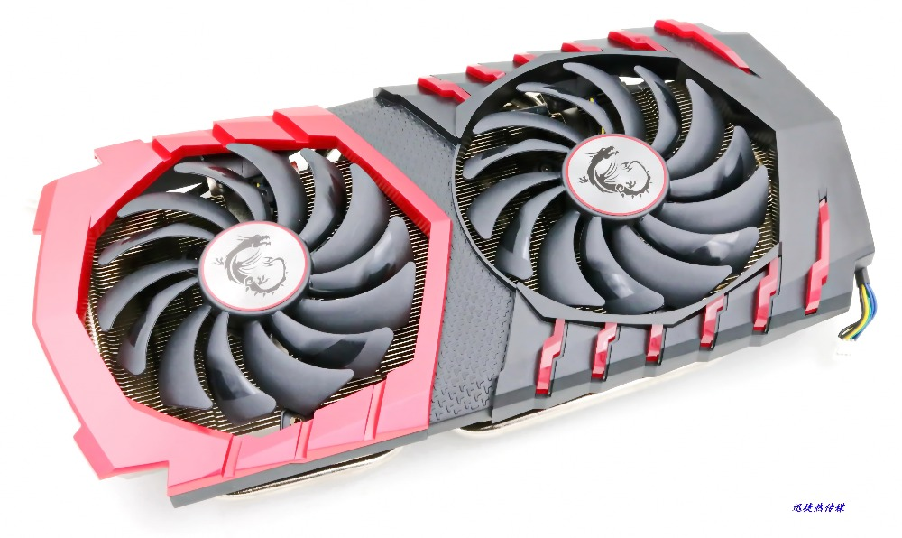 New Original For MSI GTX1080 GTX1070 GTX1060 Graphics Cooler (fan With Heatsink, No Card) With A Religious Lamp