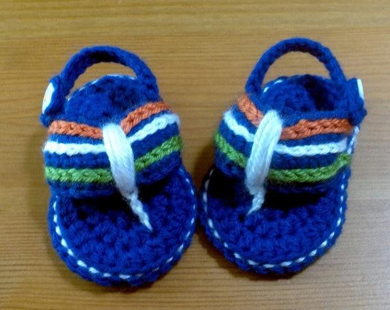Häkelarbeit baby sandalen, hand häkeln gladiator sandalen, baby ...
