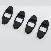 lsrtw2017 abs car door stopper cover for honda accord 2008 2009 2010 2011 2012 2013 8th